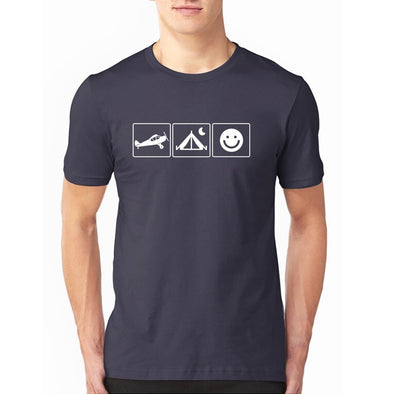 THE HAPPY BUSH PILOT T-Shirt