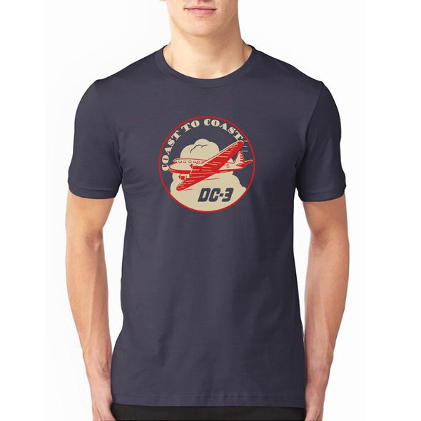 "DC-3 ""COAST TO COAST"" T-Shirt"