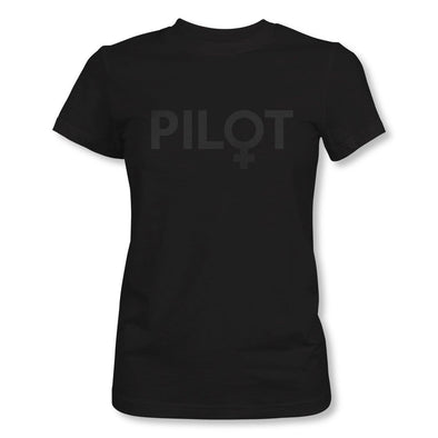 FEMALE PILOT STEALTH SERIES T-Shirt