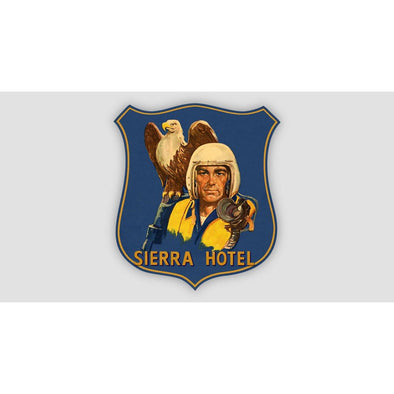 SIERRA HOTEL Sticker