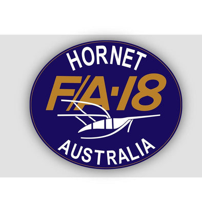 F/A-18 HORNET RAAF SQUADRON PATCH (2 of 2) Sticker