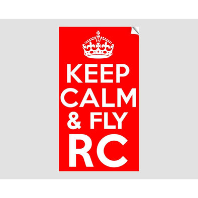 KEEP CALM AND FLY RC Sticker