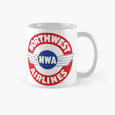 VINTAGE NORTHWEST AIRLINES Mug