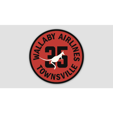 35SQN WALLABY AIRLINES Sticker
