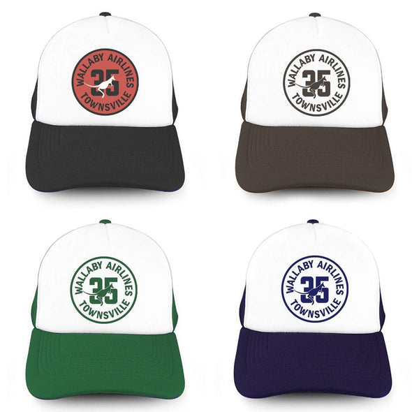 WALLABY AIRLINES TOWNSVILLE Trucker Cap
