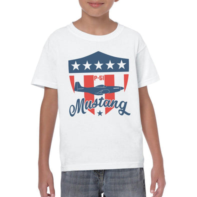 MUSTANG Youth Semi-Fitted T-Shirt