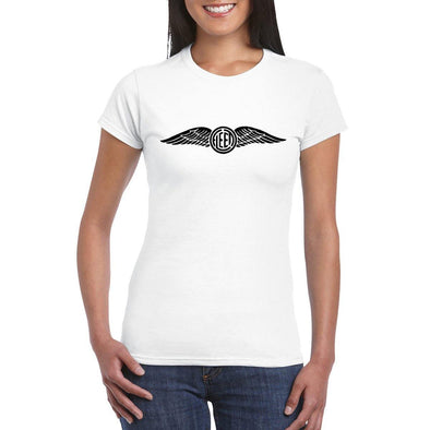 FLEET WING LOGO Women's Crew Neck Tee.