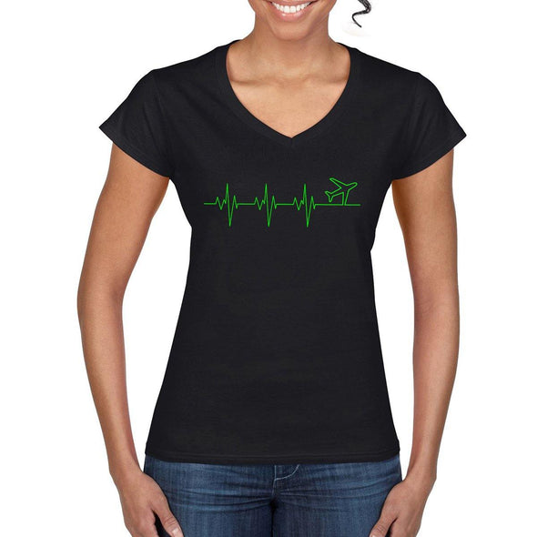 HEARTBEAT Women's Semi-Fitted T-Shirt