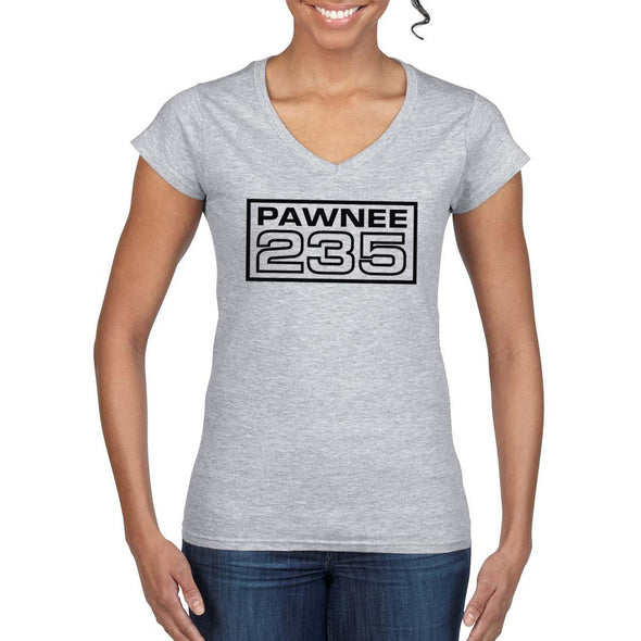 PAWNEE 235 Women's V-Neck Tee