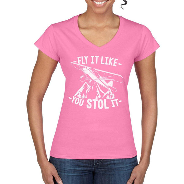 FLY IT LIKE YOU STOL IT Women's Semi-Fitted T-Shirt