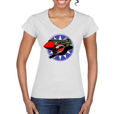 FLYING TIGERS Semi-Fitted Women's T-Shirt