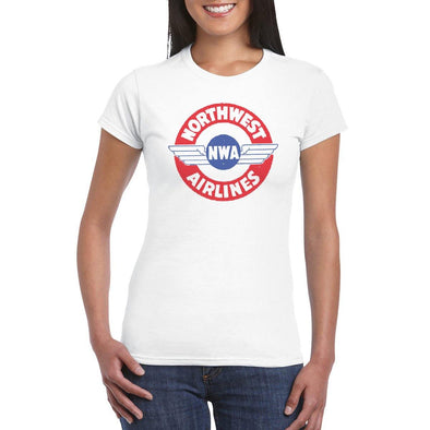 NORTHWEST AIRLINES LOGO Women's T-Shirt
