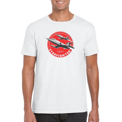 "F-104 STARFIGHTER ""THE MISSILE WITH A MAN IN IT"" T-Shirt"