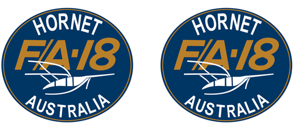F/A-18 HORNET RAAF SQUADRON PATCH (2 of 2) Mug