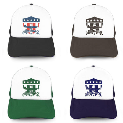 MUSTANG SHIELD Trucker Cap