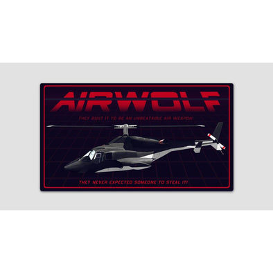 AIRWOLF Sticker