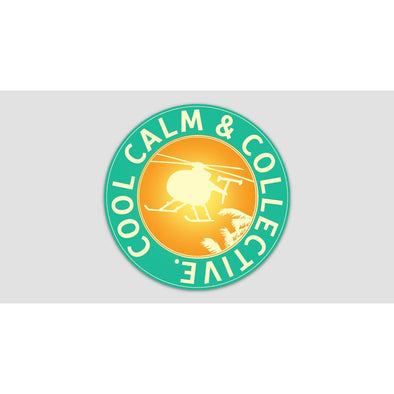 COOL CALM AND COLLECTIVE Sticker