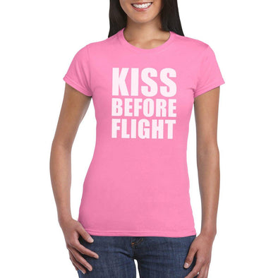 KISS BEFORE FLIGHT Women's T-shirt