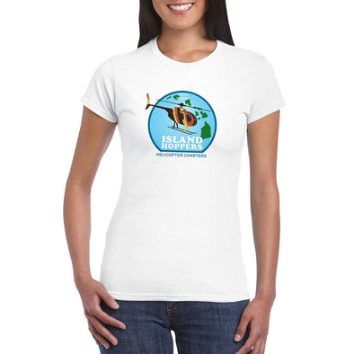 ISLAND HOPPERS HELICOPTER CHARTER Women's T-Shirt
