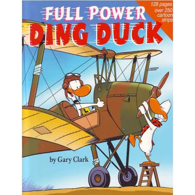 FULL POWER DING DUCK Cartoon Book