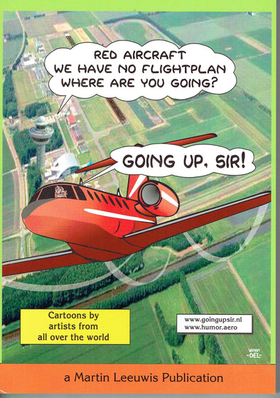 GOING UP, SIR! Cartoon Book