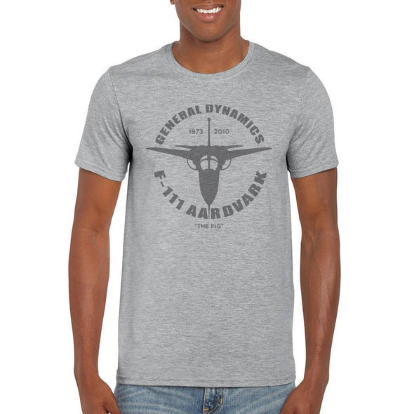 "GENERAL DYNAMICS F-111 AARDVARK ""THE PIG"" T-Shirt"