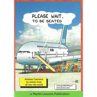 PLEASE WAIT TO BE SEATED Cartoon Book