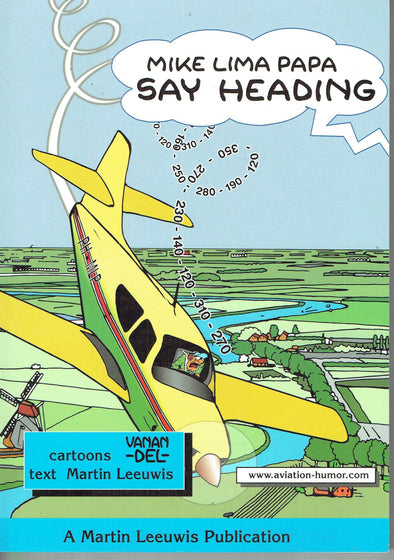 SAY HEADING Cartoon Book