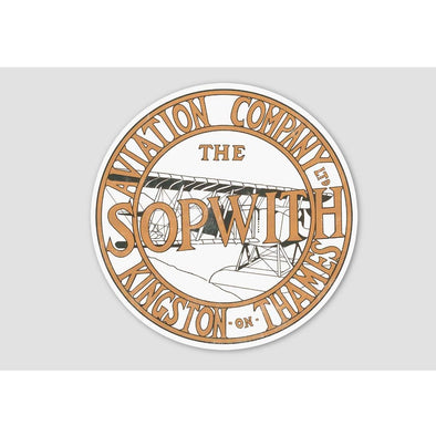 SOPWITH LOGO Sticker