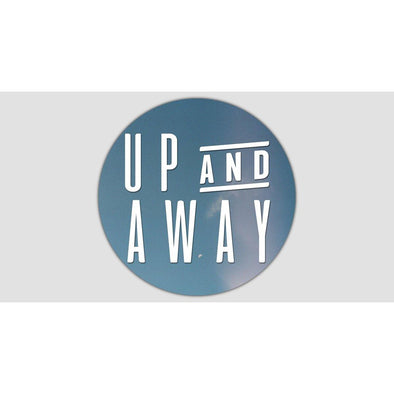 UP AND AWAY Sticker