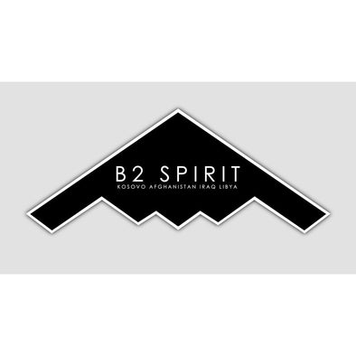 B2 SPIRIT Sticker