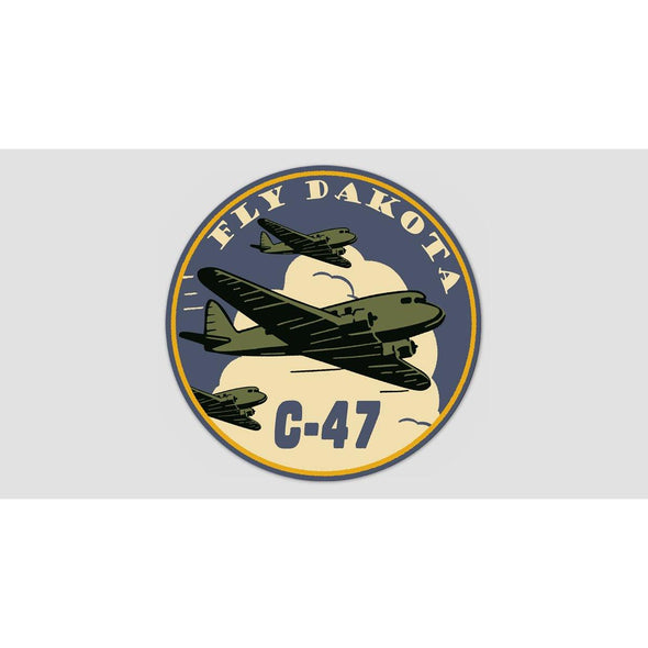 "C-47 ""FLY DAKOTA"" Sticker"