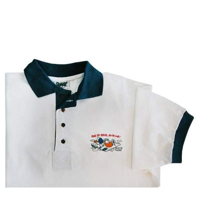 TIME TO SPARE-GO BY AIR  Polo Shirt