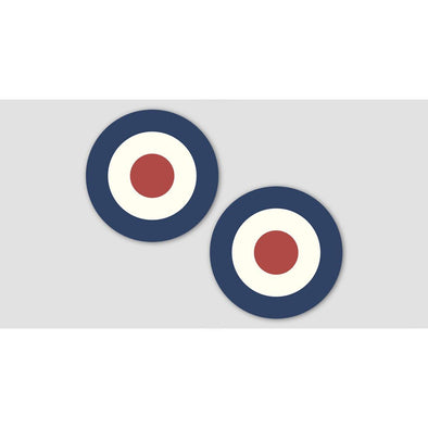 RAF ROUNDEL (PAIR) Stickers