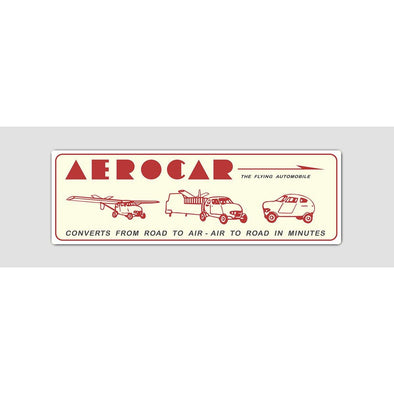 AEROCAR Sticker