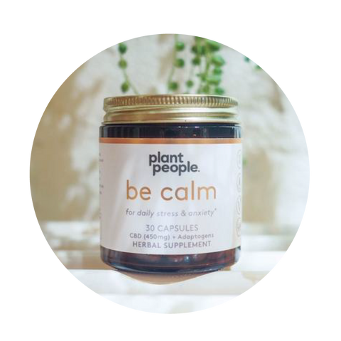 Plant People Be+Calm Capsules