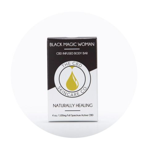 Black Magic Woman Naturally Healing Soap Bar - Total Peace & Wellness