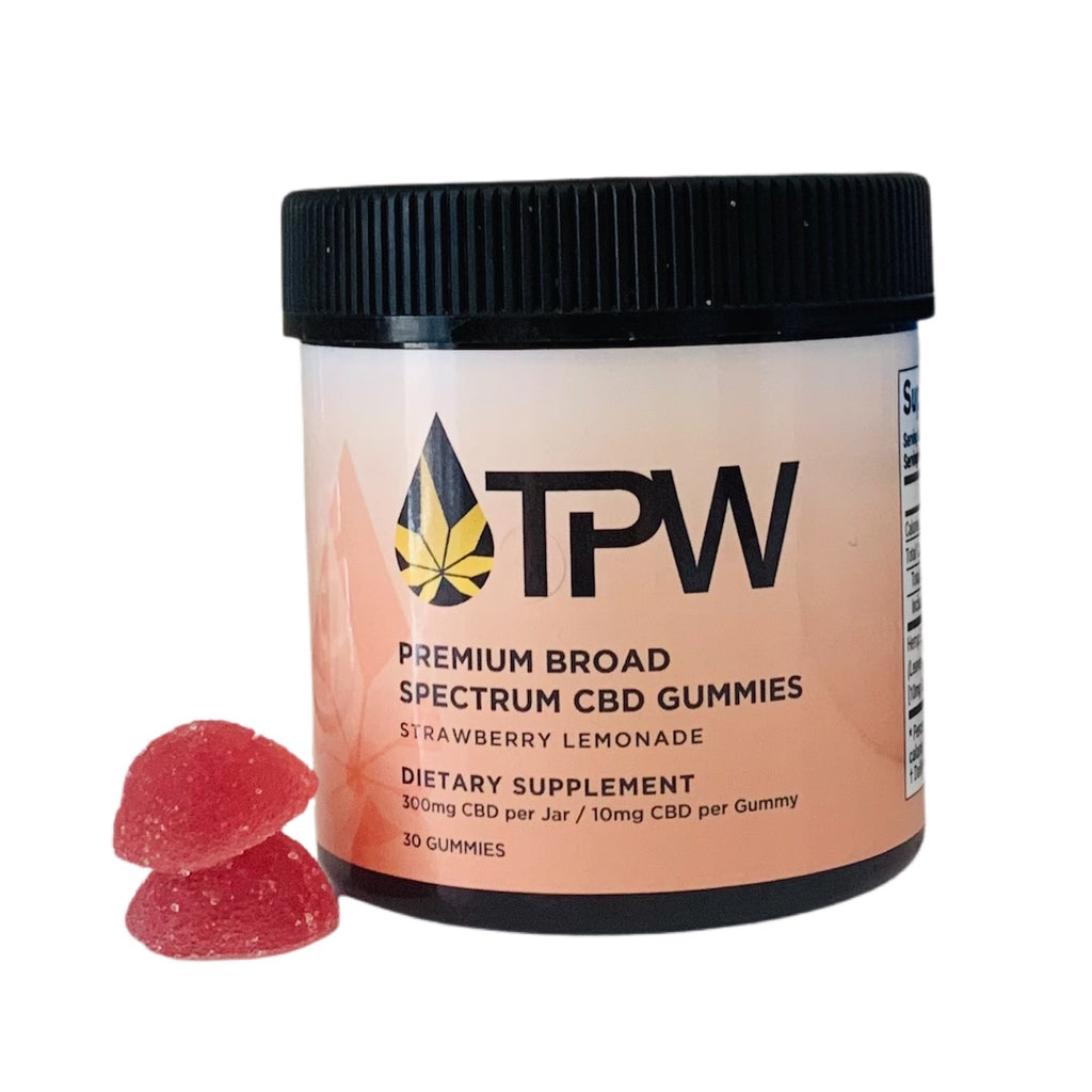 Total Peace and Wellness CBD Strawberry Lemonade Gummies