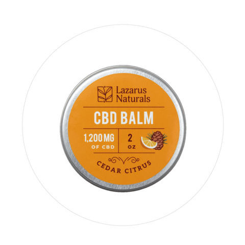 Cedar Citrus Full Spectrum CBD Balm