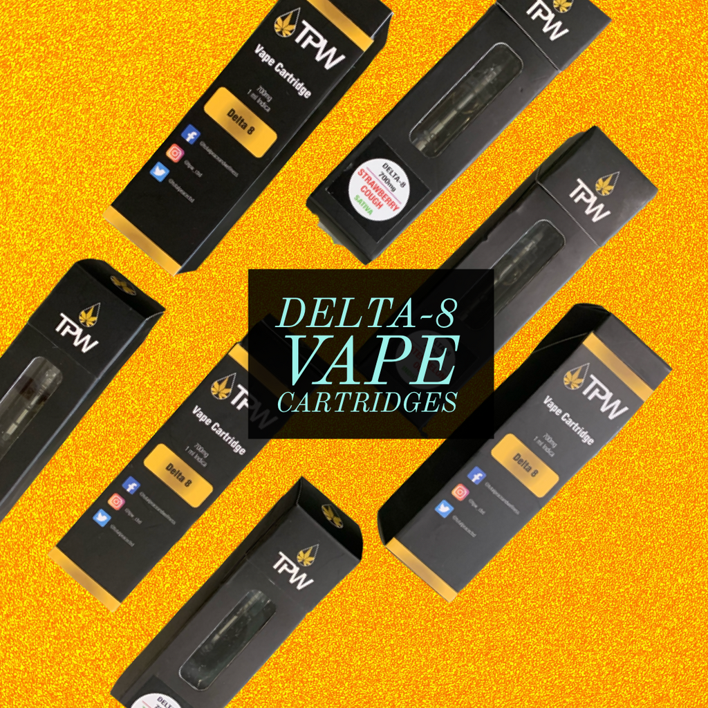 TPW Delta-8 Vape Cartridge 700mg
