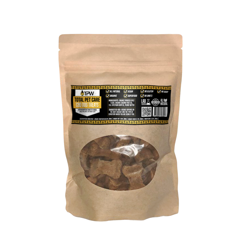 TPW Total Pet Care CBD Dog Treats