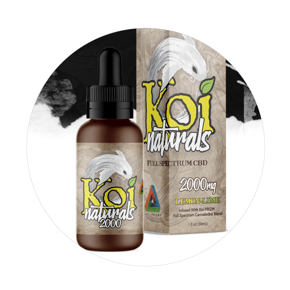 Koi Tinctures - Total Peace and Wellness CBD