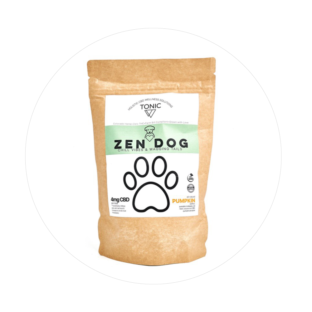 Zen Dog Pumpkin Dog Treats - Total Peace and Wellness CBD
