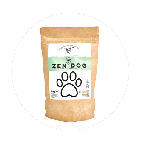 Zen Dog Pumpkin Dog Treats - Total Peace & Wellness