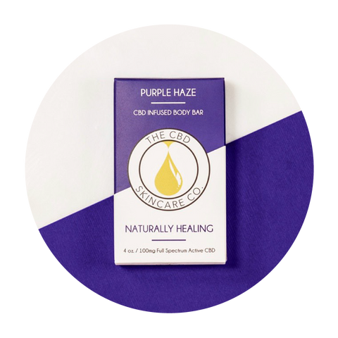 Purple Haze Naturally Healing Soap Bar - Total Peace & Wellness