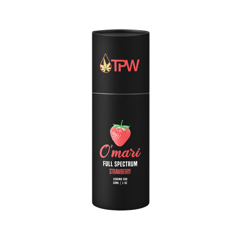 TPW O'mari 1000mg Full Spectrum Strawberry Tincture