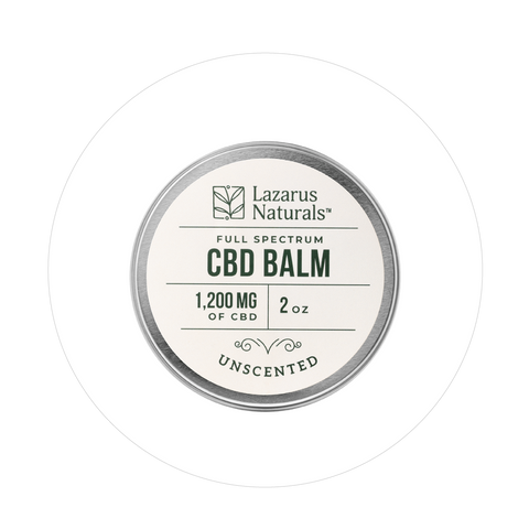 Unscented Full Spectrum CBD Balm 1200mg