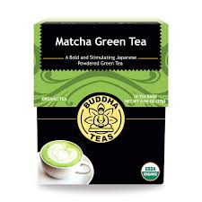 Buddha Teas CBD Matcha Green Tea