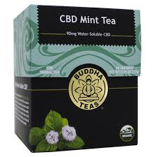 Buddha Teas CBD Mint Tea