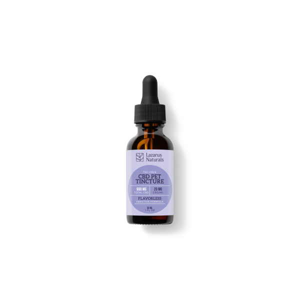 Lazarus Naturals Sensitive Pet CBD Oil Tincture 600mg